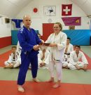 Olivia Awarded Her Brown Belt